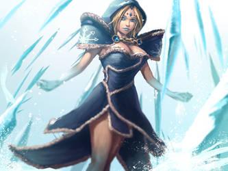 Crystal Maiden Arcana by Anti-Viirus