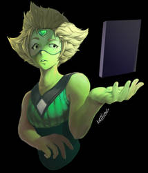 A rectangle? (Peridot) by Anti-Viirus