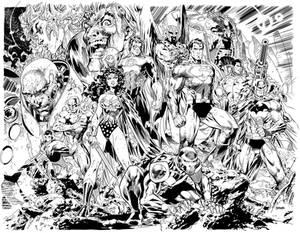 Justice League Jim Lee 1s