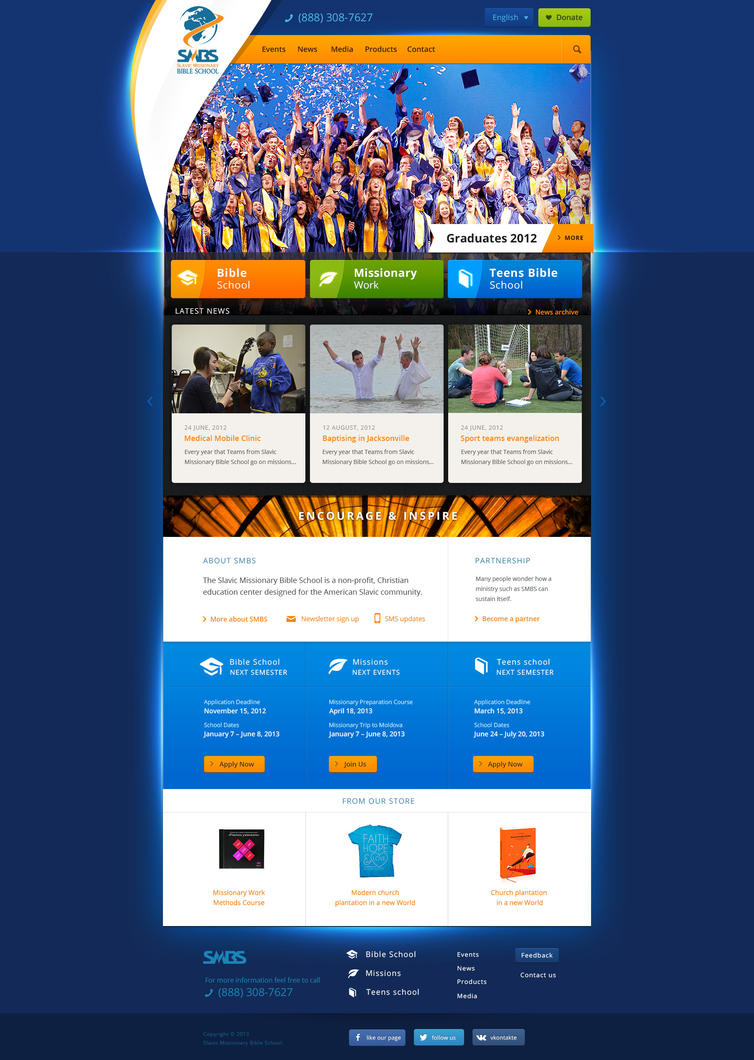 SMBS WebSite index rev5 by Siteograph