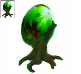 Elder God Squiby: Egg stage