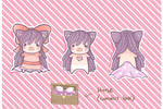 Fabric Sprite: Lavender Doll [Closed]