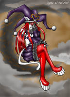 Lady Xillix-Colour by xythe