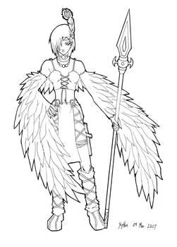 Virgo - Winged Human