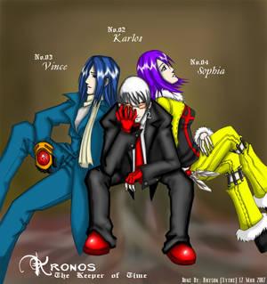 Kronos - No. 2, 3, 4