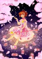 Our Cherryblossom - [Fanart/Card Captor Sakura] by aceaeite