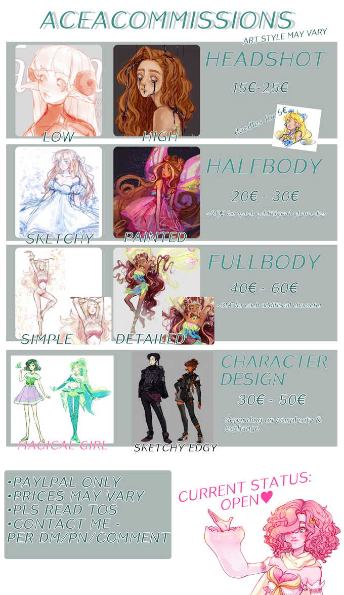 my commission info for people who wanna support me