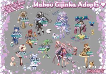 Pokemon Gijinka Adopts  [SET PRICE - OPEN 3/11]
