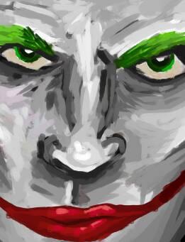 Another Joker doode by ojeffery