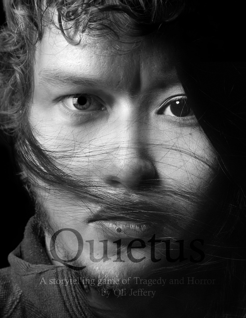 Quietus Front Cover Illustration by ojeffery
