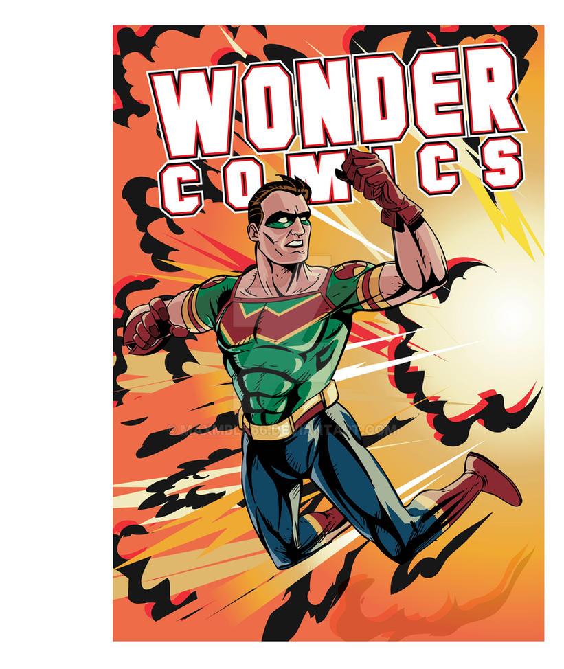 Wonderman Ink by maxmblk66