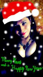 Crossdress Merry Christmas and Happy New Year 2017 by CrossdressBat