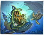 Yellow submarine.. yellow submarine [By Charmers]