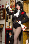 Zatanna at Mago's Magic Shoppe