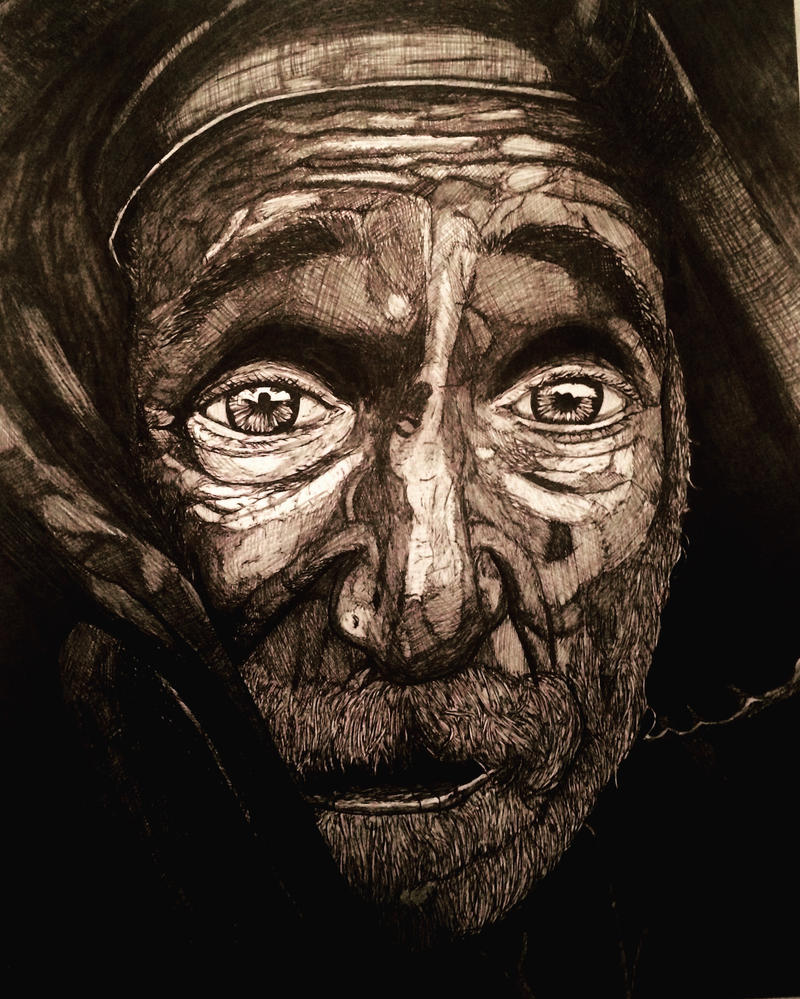 old face by Beddwyr