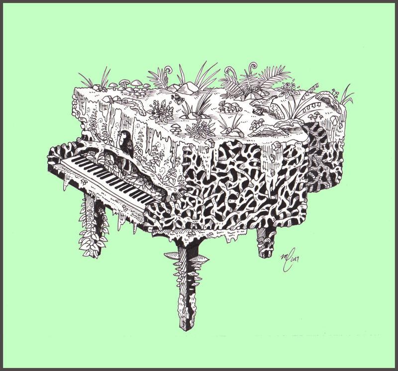 Nature's tune by Midniterain