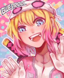 GwenPool !! by ShikuroMay
