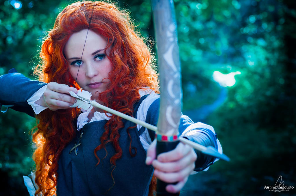 Brave - Merida by JustineVedovato
