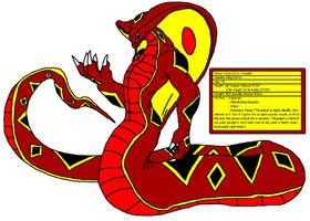 Calus the Cobra Naga Colored by Lord-Josephiroth