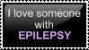 Epilespy Love - STAMP by TheLeavesOfMemory