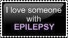 Epilespy Love - STAMP by TheLeavesOfMemory