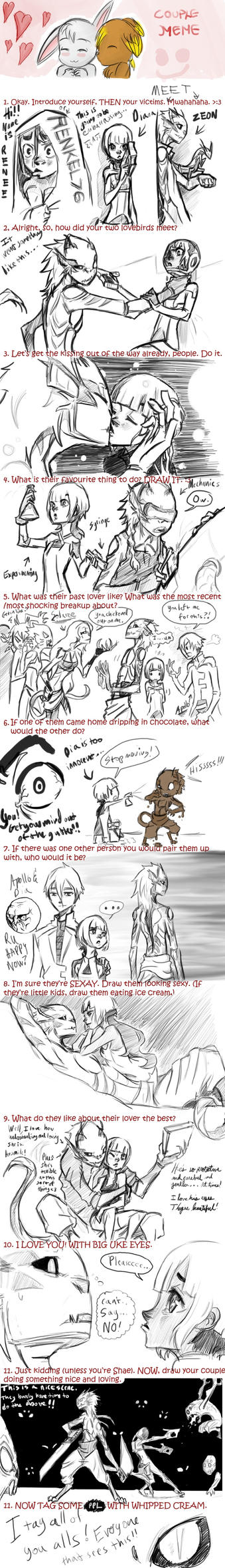 OC Couple Meme: DiaZeon by Dream-Piper