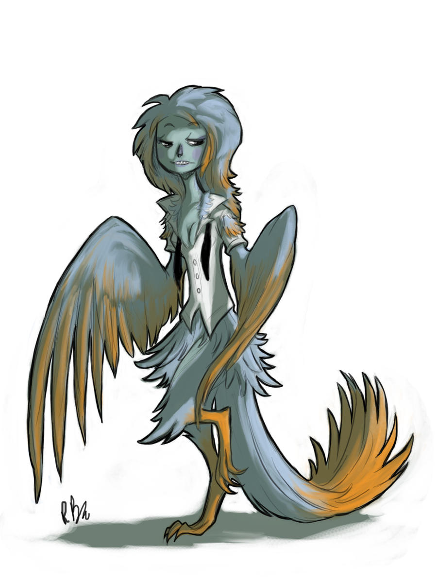 Day One: Harpy by Dream-Piper