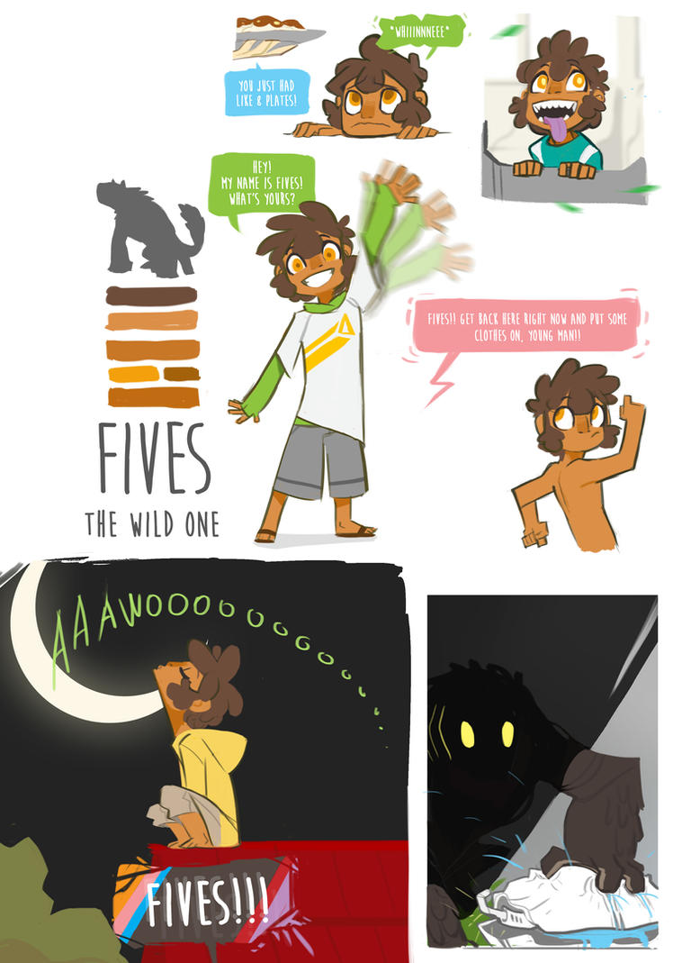 Project Chimera: Fives the Wild One by Dream-Piper