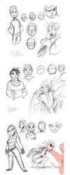 ProjChim: Sketchdump by Dream-Piper