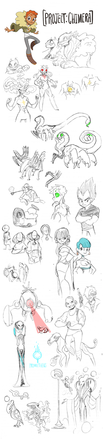 SketchDump: Scans from my Sketchbook by Dream-Piper