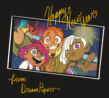 Happy New Year 2019 by Dream-Piper