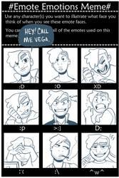 SC: Emote Emotions of Vega