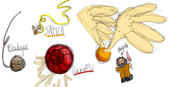 Muggle quidditch balls