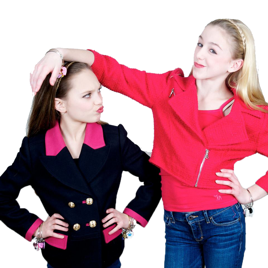 Maddie Ziegler and Chloe Lukasiak-Png Transparent by ...