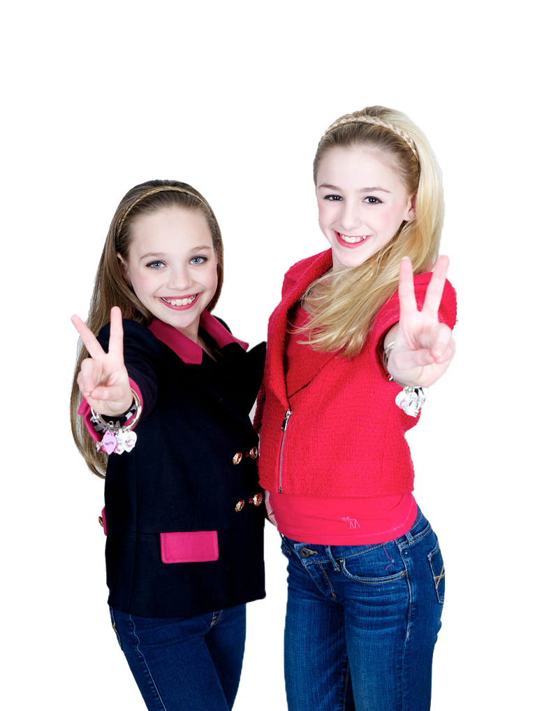 Maddie Ziegler and Chloe Lukasiak-Png Transparent2 by ...