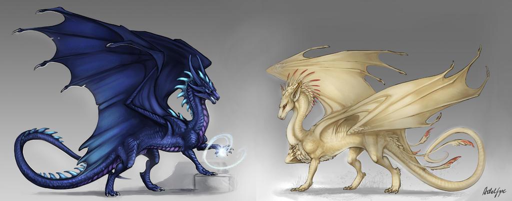 Ixal and Yria by Ixal