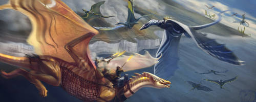 Skirmish over Dover by Ixal