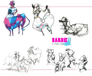 Charadesign - Barbie - A Punk Cowgirl by miss-pepper