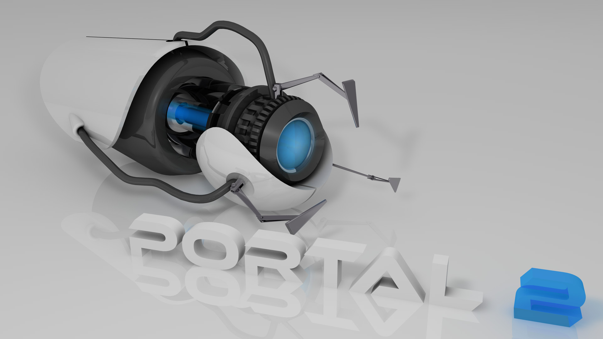 Cinema 4D - Portal 2 Gun by SMOKEYoriginalHD