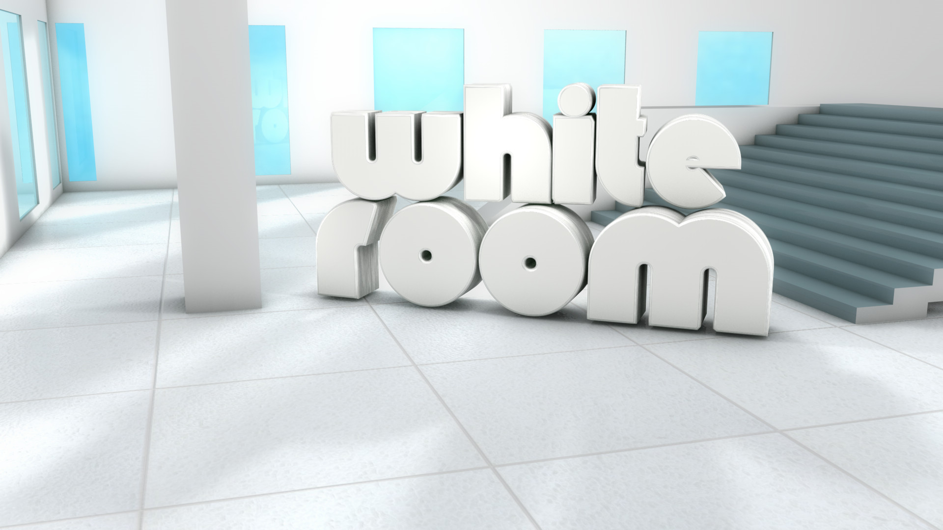Cinema 4D -- WhiteRoom by SMOKEYoriginalHD
