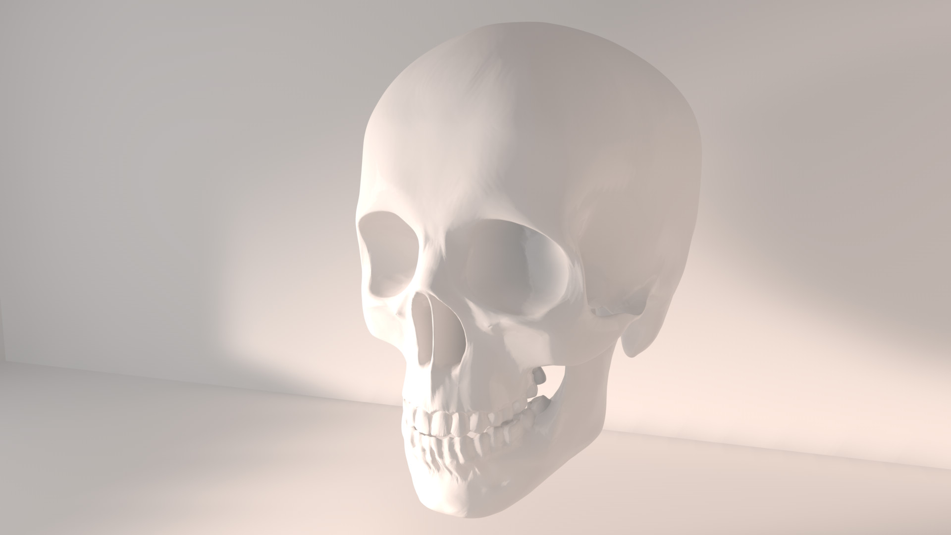 Cinema 4D -- Skull by SMOKEYoriginalHD on DeviantArt