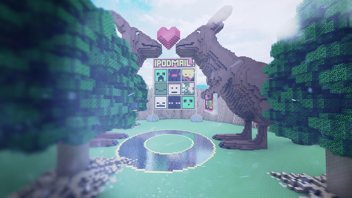 Beautiful Wallpaper Minecraft Christmas - minecraft_wallpaper_iv__by_smokeyoriginalhd-d56fjc0  Picture_74421.jpg
