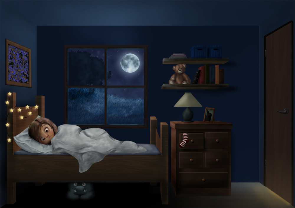 The Monster Under The Bed By Eli1991 On Deviantart