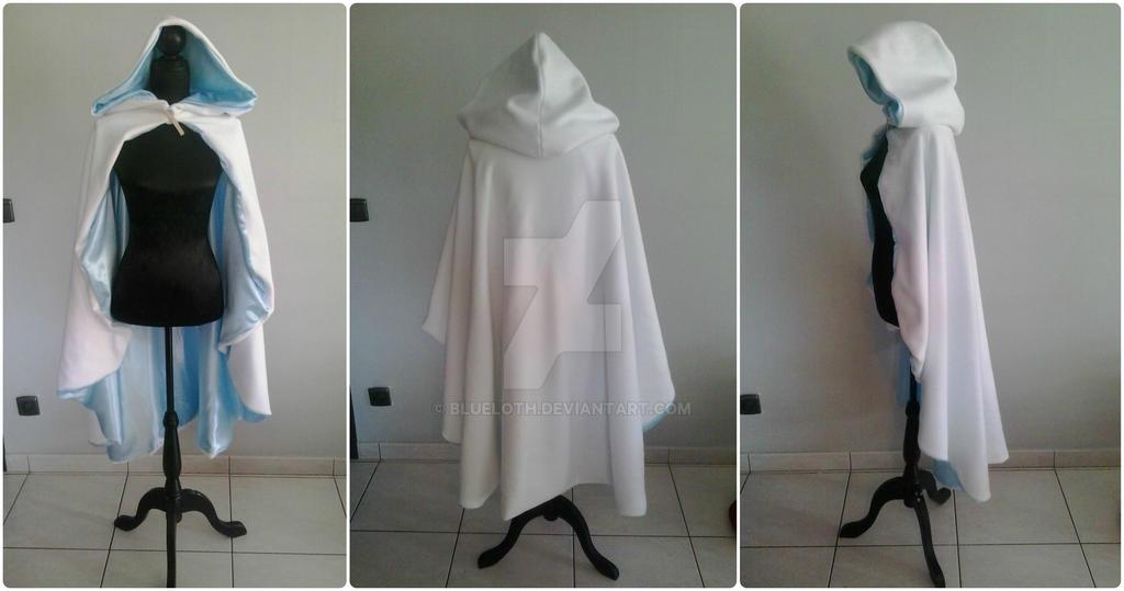 Snowbunny padme progress coat by Blueloth