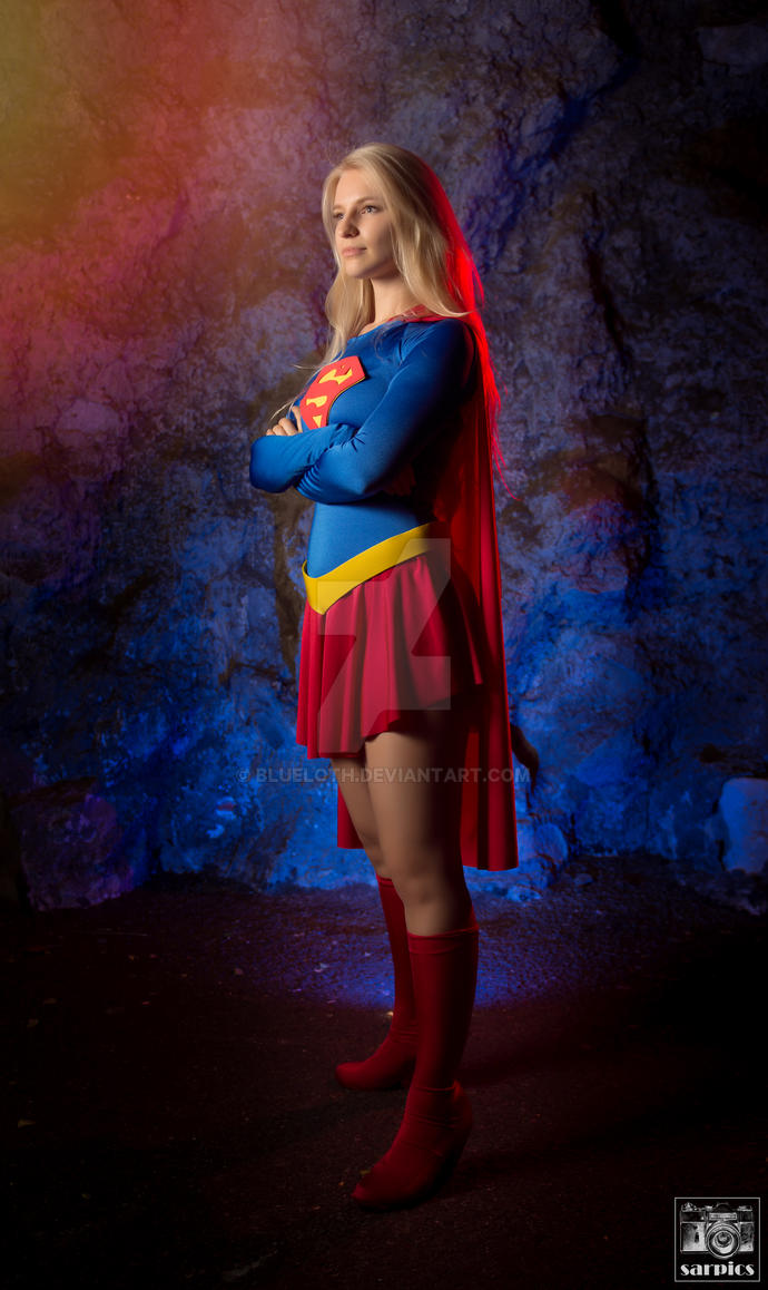 Stay strong ~ Supergirl by Blueloth