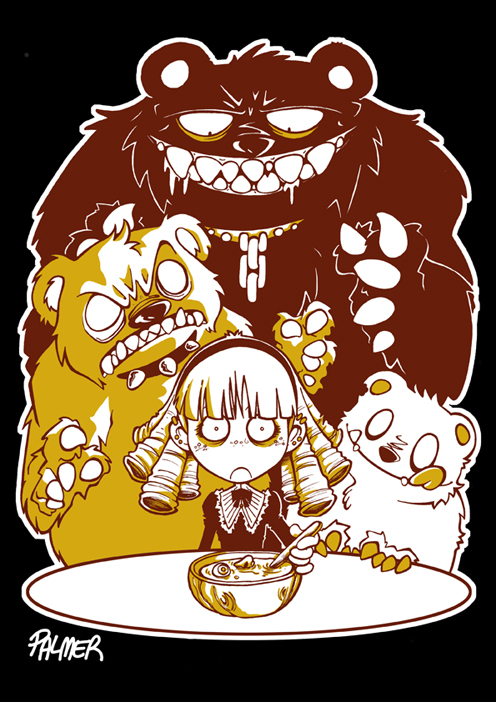 Goldilocks and the Three Bears by lpspalmer