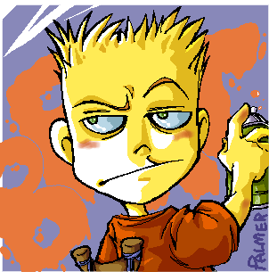Bart Simpson by lpspalmer