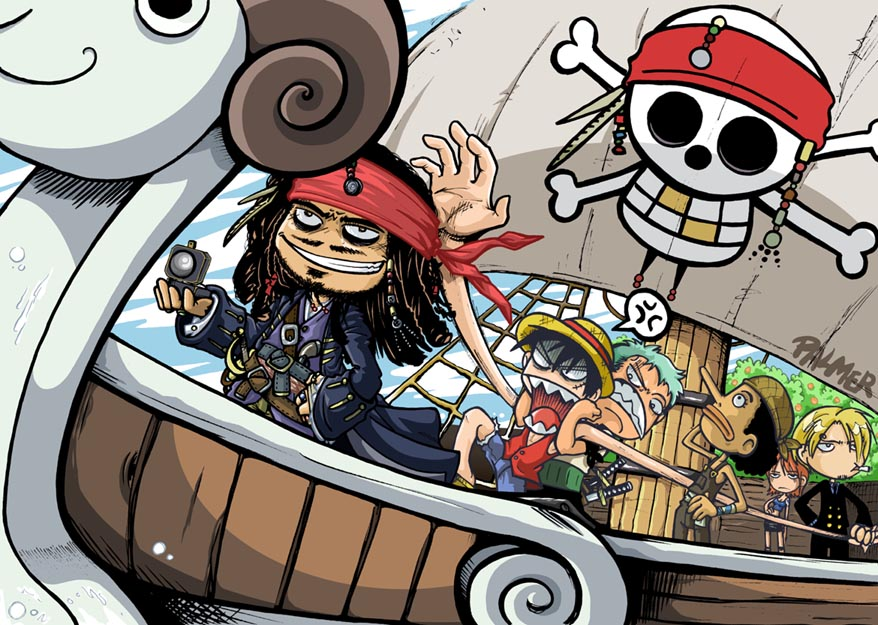 POTC: the one piece stolen by lpspalmer