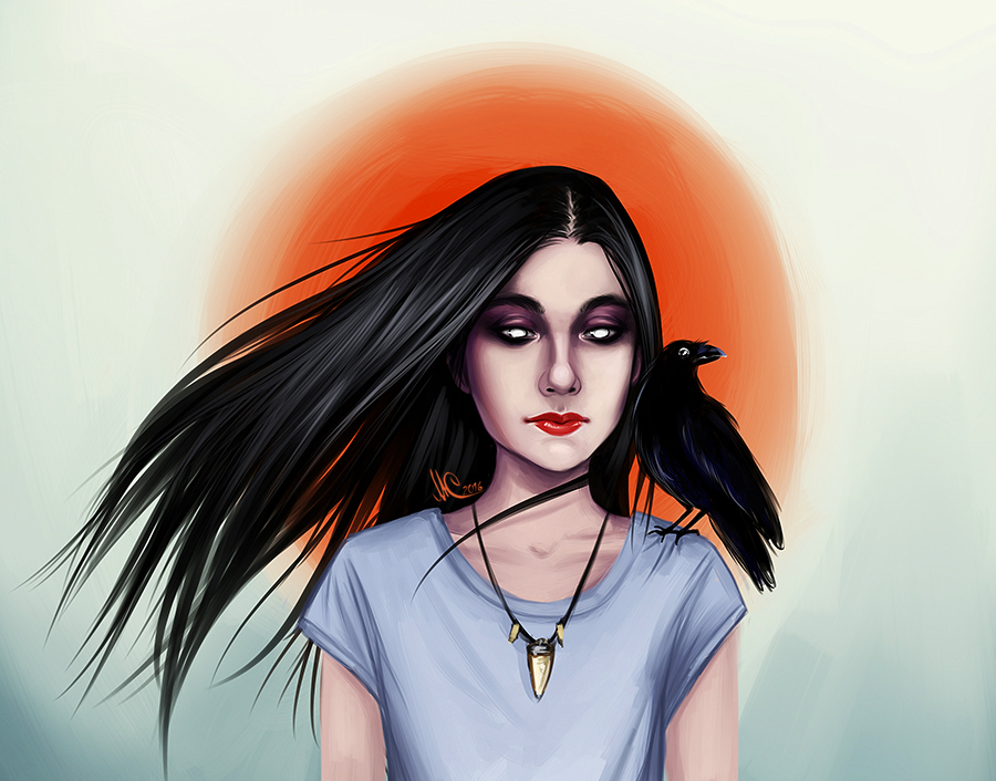 Raven by Maria-from-Russia