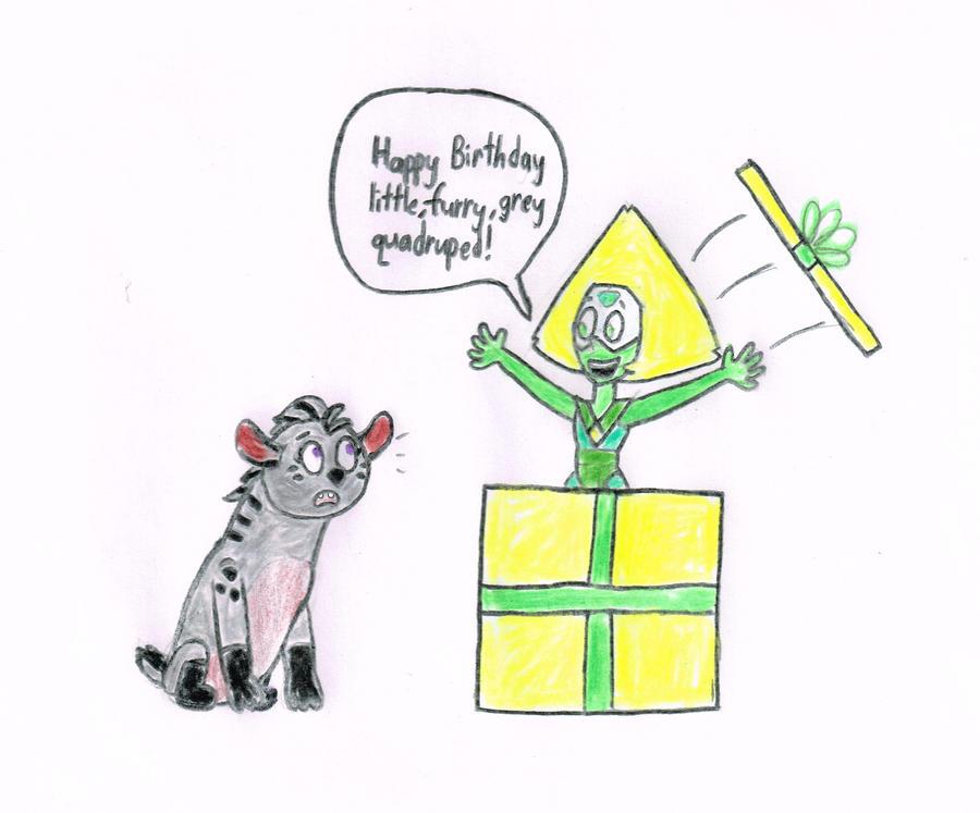 Peridot's Birthday Greeting by s233220